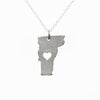 Sterling silver Vermont necklace