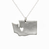 Sterling silver Washington necklace
