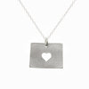 Sterling silver Wyoming necklace
