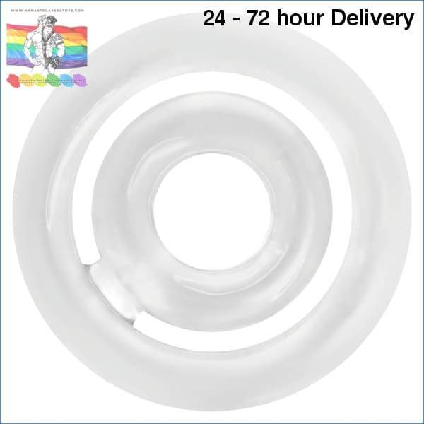 ADDICTED TOYS POTENZ- C-RING PENIS CLEAR XXX toys|Accessories for the penis Online sex toy store Namaste Gay Sex Toys
