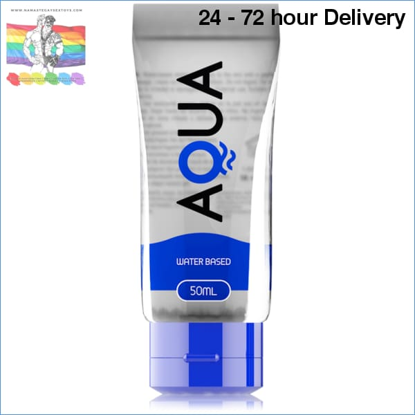 AQUA QUALITY WATERBASED LUBRICANT 50ML Oils and lubes|Lubes|Water-based Online sex toy store Namaste Gay Sex Toys