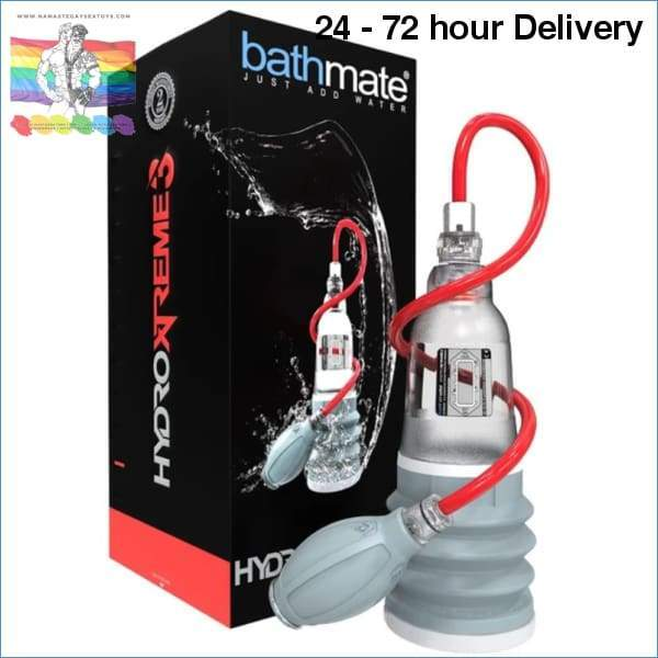 BATHMATE HYDROXTREME 3 CLEAR XXX toys|For him Online sex toy store Namaste Gay Sex Toys