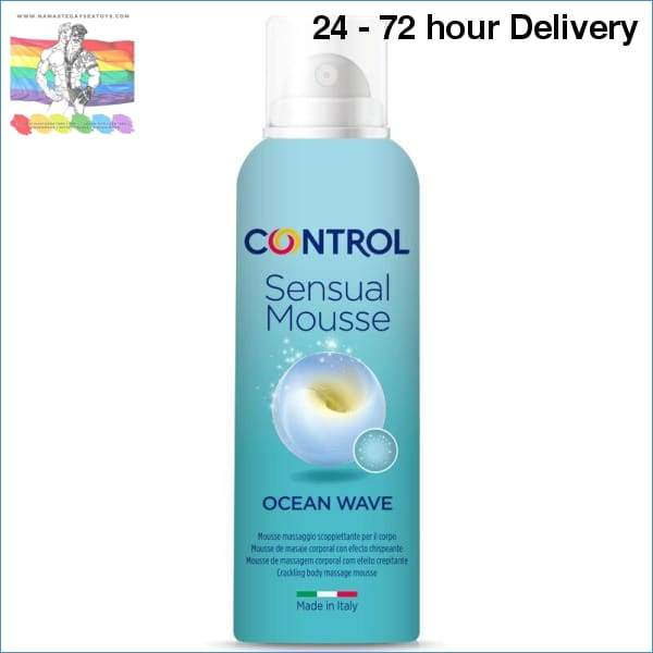 CONTROL MOUSSE SENSUAL WAVE MASSAGE CREAM 125 ML Oils and lubes|Massage oils Creams|Massage creams Online sex toy store Namaste Gay Sex Toys