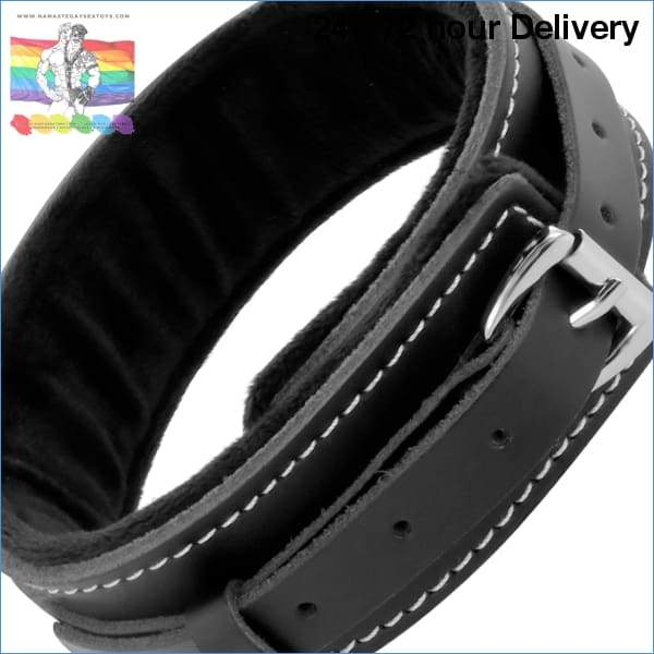 DARKNESS BLACK FURRY COLLAR WITH LEASH XXX toys|Fetish / Bondage|BDSM / Accesorios Online sex toy store Namaste Gay Sex Toys