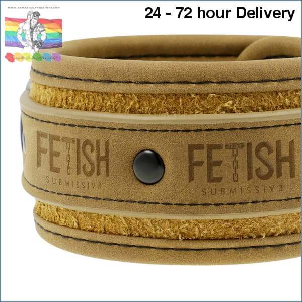 FETISH SUBMISSIVE ORIGIN ANKLE CUFFS VEGAN LEATHER XXX toys|Fetish / Bondage|Handcuffs Online sex toy store Namaste Gay Sex Toys