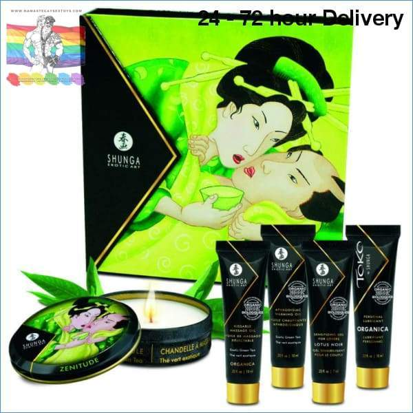 GEISHA SECRET KIT EXOTIC GREEN TEA Oils and lubes|Massage oils Creams|Aphrodisiac effect Online sex toy store Namaste Gay Sex Toys