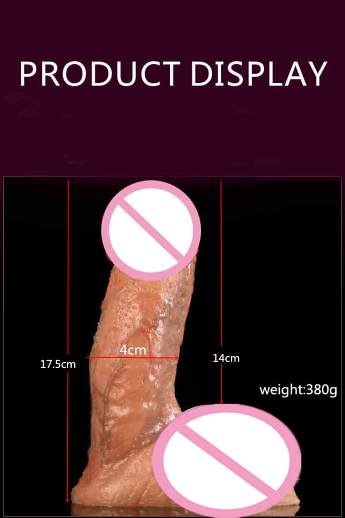 Realistic Diameter 4.5cm Dildo Excellent Craftsmanship. Realistic skin feel and look. .