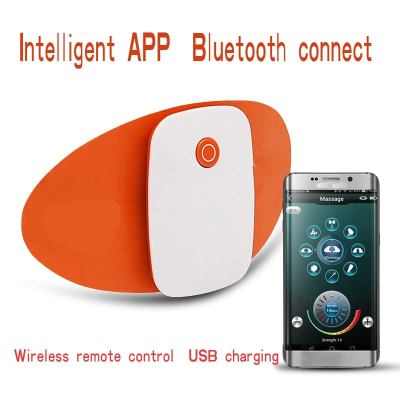 Smart APP Remote Control Electric Shock Anal Plug USB Chargeable Anal Vibrator