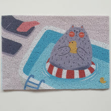 FLOOR MAT - Sunday Funday Cats Series