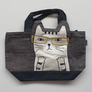 LUNCH TOTES - Unimpressed Cats Series