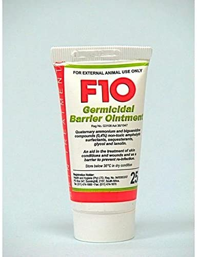 F10 Germicidal Barrier Ointment (25mg)