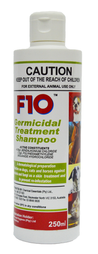 F10 Germicidal Treatment Shampoo (250ml)