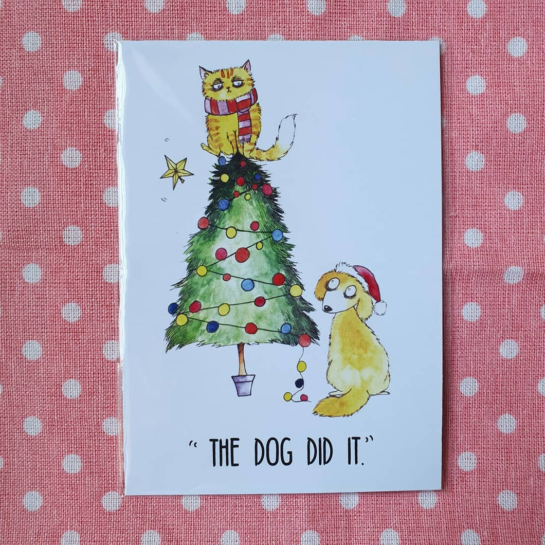CARDS - Christmas Greeting Cards by Bleak Illustration