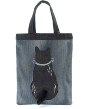 TOTE BAG - Japan Denim bag with tail