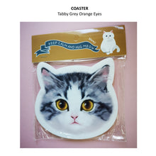 COASTER - MEWJI Cat Face Coaster