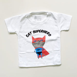 T-SHIRT - Cat Superhero!