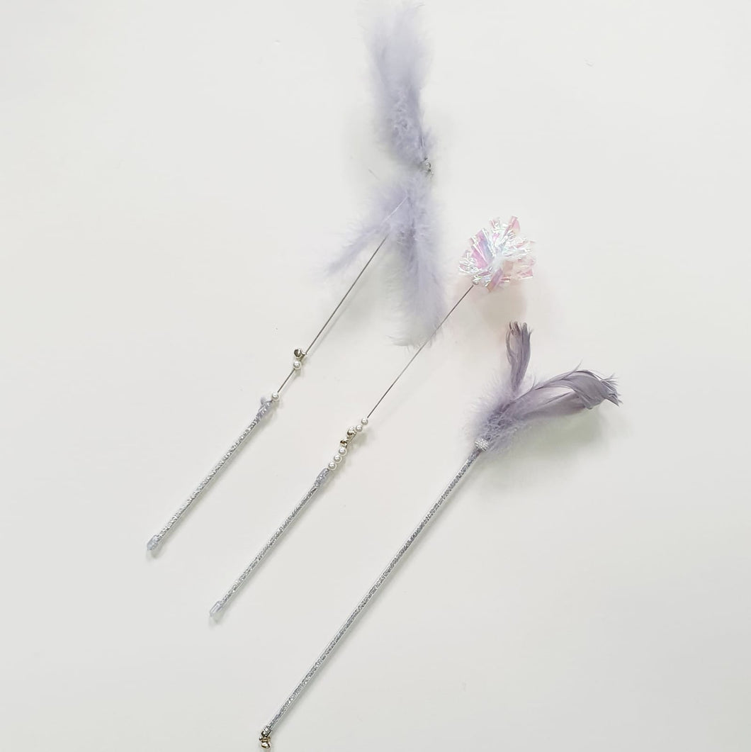 CAT TOY - Set of 3 Wands