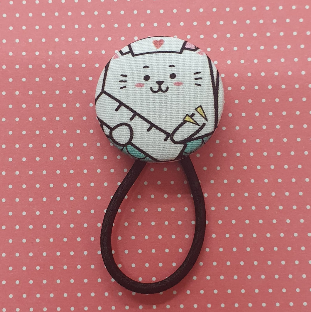 HAIR TIES - Nurse Cat Series by Oatsie's Trunk