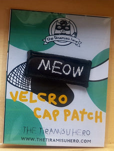 The Tiramisu Hero cap with velcro badges (woot)