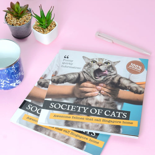 CWS Society of Cats Book - CatMamaShop
