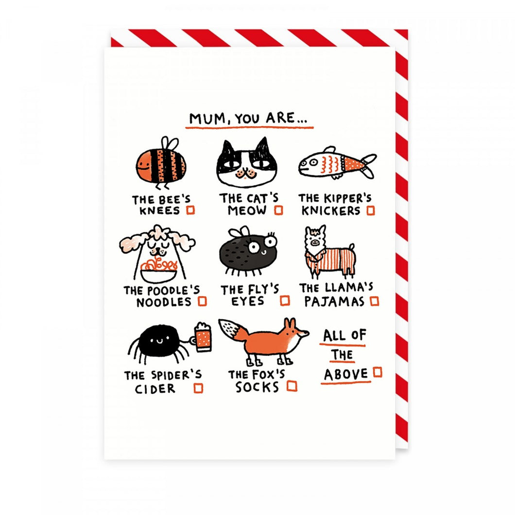 Greeting Card - Mum, you are ... - CatMamaShop