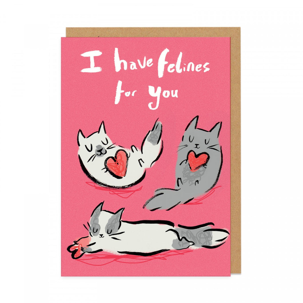 Greeting Card - Felines for you - CatMamaShop