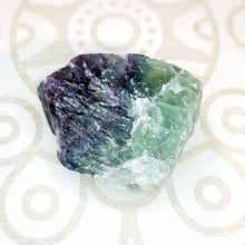 Rainbow Fluorite Rough - Medium