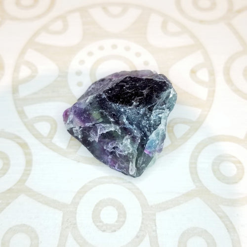 Rainbow Fluorite Rough - Small