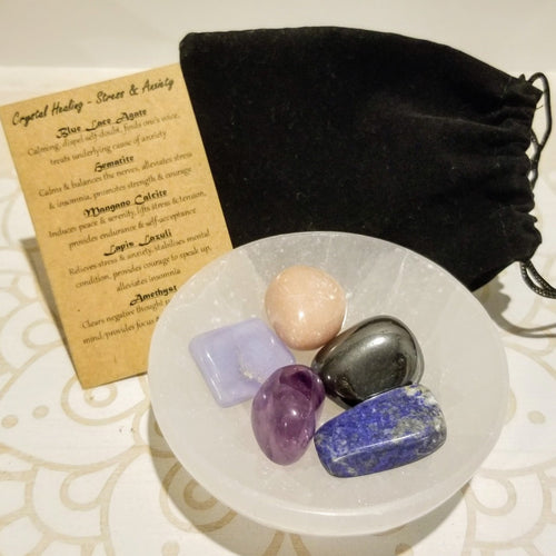 Healing Pouch - Stress & Anxiety