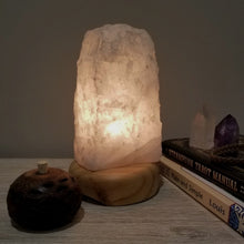 Snow Quartz Crystal Lamp
