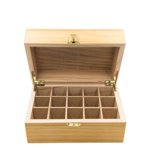 Storage Box for Essential Oil - 15 Bottles
