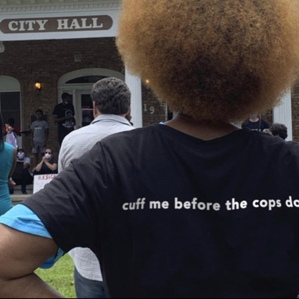 Cuff me before the cops do T-shirt