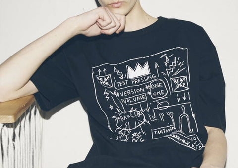 Jean Michel Basquiat Art Work T-Shirt
