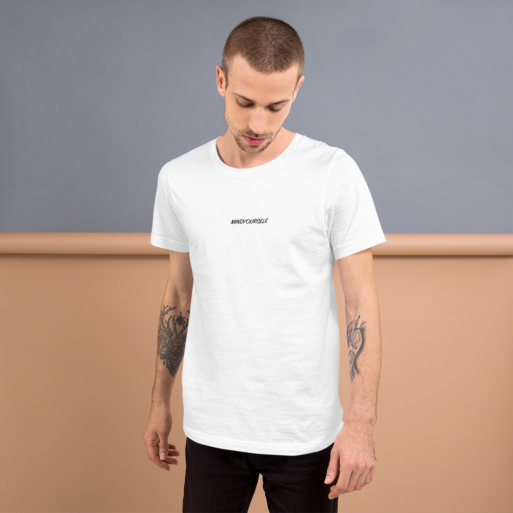 MindYourself. Unisex T-shirt