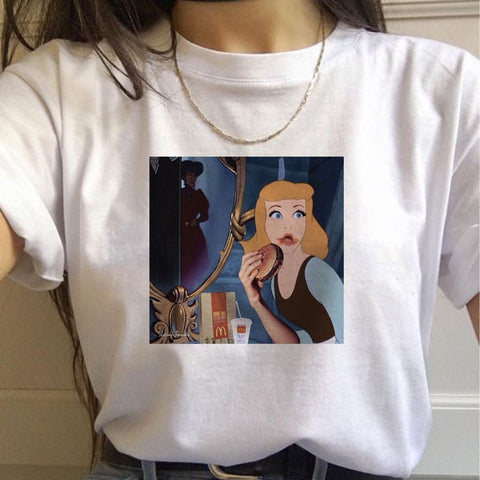 """The Princess Needs A Hamburger"" Tee"