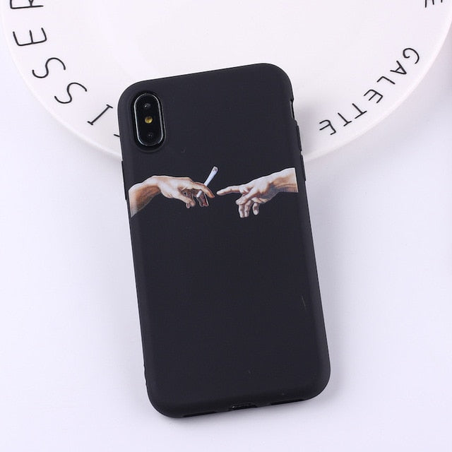 Creation of Adam Phone Case