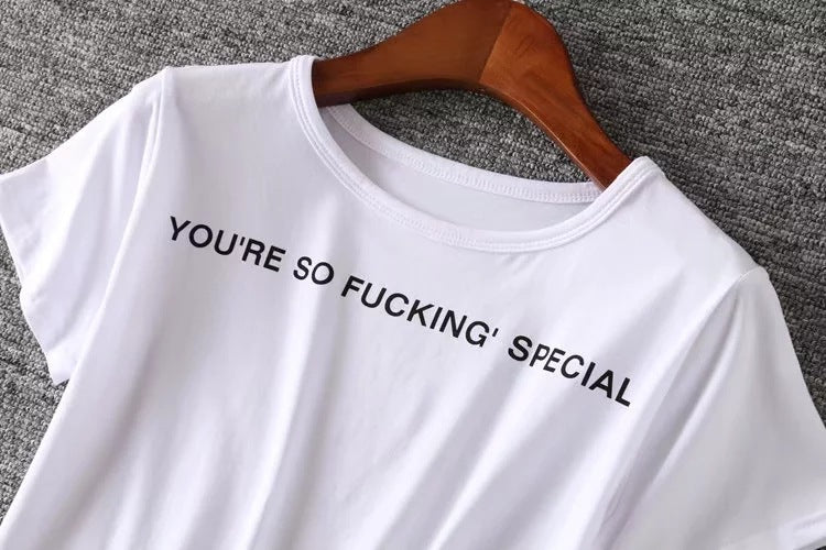 You're So Fucking' Special Crop Top