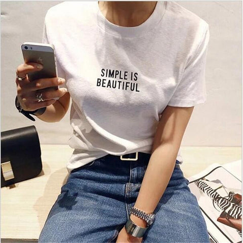 Simple Beautiful T Shirt
