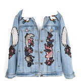 Wings Denim Jacket