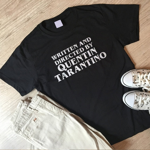 Written and Directed by Quentin Tarantino #2 T-shirt