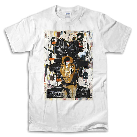 Jean-Michel Basquiat Self Portrait T Shirts