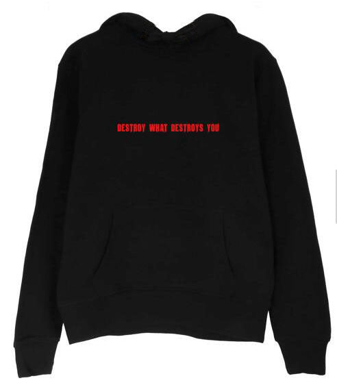 Destroy What Destroys You Hoodie