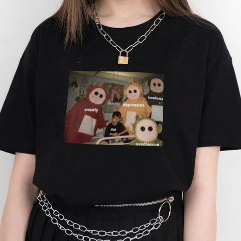 Teletubbies Around Me T Shirt