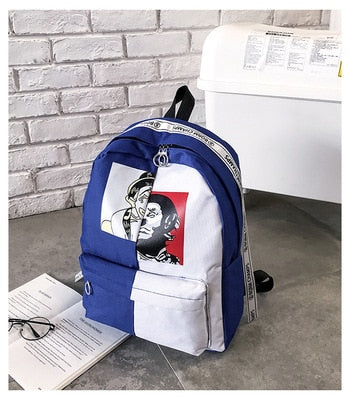 Graffiti Printing Backpack