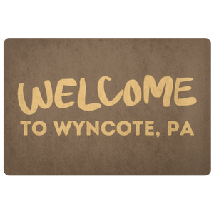 Welcome to Wyncote doormat!