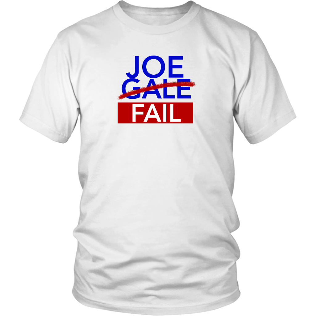 Joe Gale Fail T-Shirt - Support Minority Students in Journalism