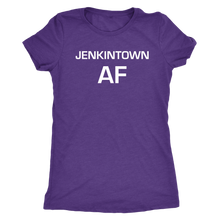 Jenkintown AF Womens Triblend T-Shirt