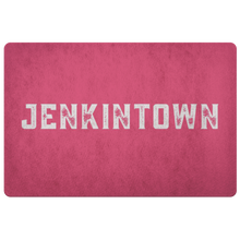 Jenkintown Red Doormat for Color Day Year Round