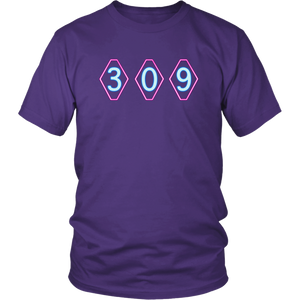 309 Throwback Mens Cotton T-Shirt