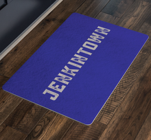 Jenkintown Blue Doormat for Color Day Year Round